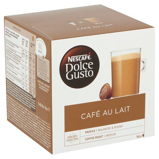 Nescafé Dolce Gusto Café Au Lait Whole Milk Powder with Instant Coffee 16 pcs 160 g