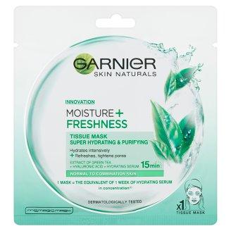 Garnier Skin Naturals Moisture + Freshness szuper hidratáló, tisztító textil maszk 32 g