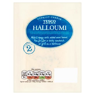 Tesco Halloumi Hard, Fat Cheese Made from Cow, Sheep and Goat Milk 250 g
