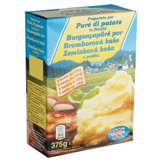 Dr. Willi Knoll Potato Puree Powder 3 x 125 g