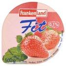Frankenland Fit epres sovány homogénezett, pasztőrözött gyümölcsjoghurt készítmény 500 g