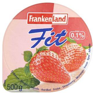 Frankenland Fit Thin Homogenized, Pasteurised Strawberry Yoghurt 500 g