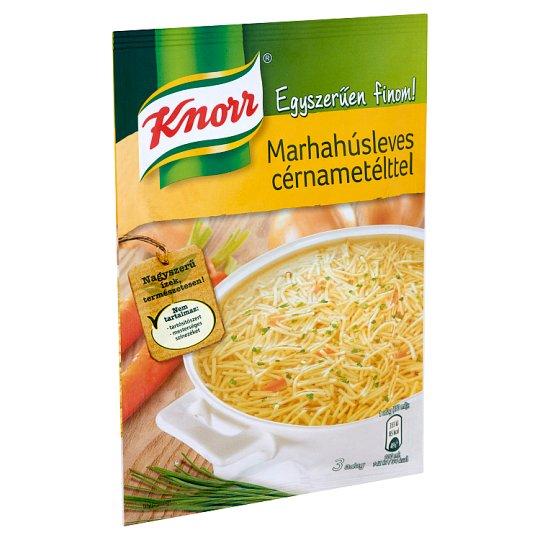 Knorr Egyszerűen finom! marhahúsleves cérnametélttel 73 g
