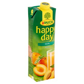 Rauch Happy Day kajszibarack nektár C-vitaminnal 1 l