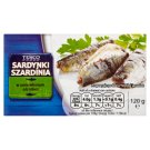 Tesco Sardines in Brine 120 g