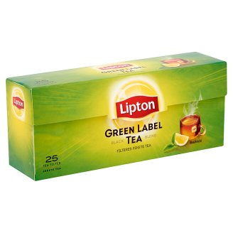 Lipton Green Label fekete tea 25 filter
