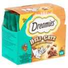 Dreamies Deli-Catz Complementary Pet Food for Adult Cats Made from Turkey 5 x 5 g
