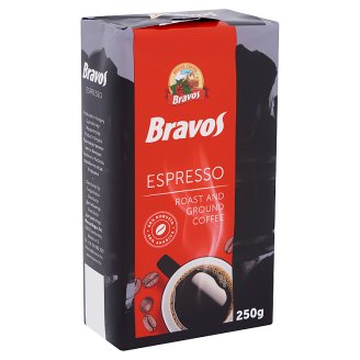 Bravos Espresso Roast and Ground Coffee 250 g