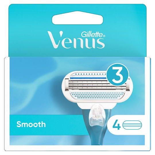 Venus Smooth Razor Blade Refills x4