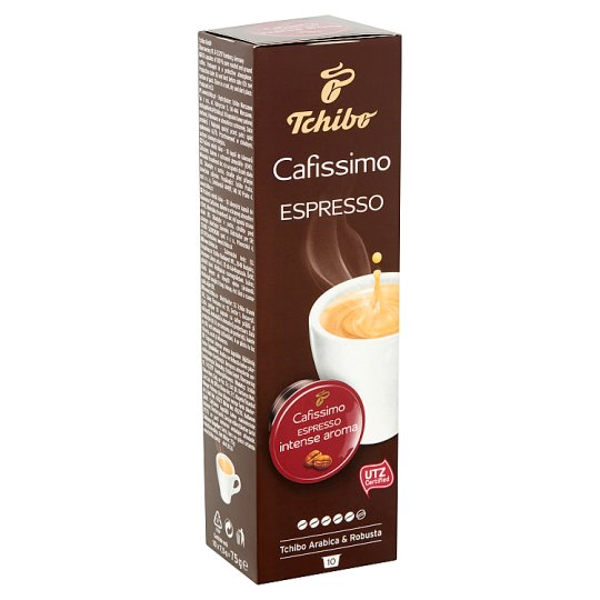 Tchibo Cafissimo Espresso Intense Aroma Coffee Capsules 10 pcs 75 g