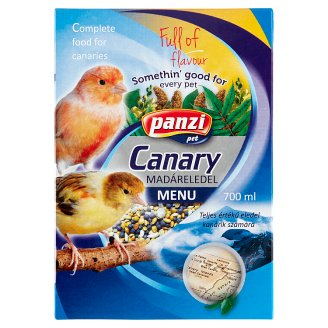 Panzi Bird Canary Pet Food 700 ml