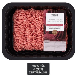 Tesco Minced Beef with 20% Fat Content 0,500 kg