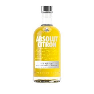 Absolut Citron Lemon Flavoured Vodka 40% 0,7 l