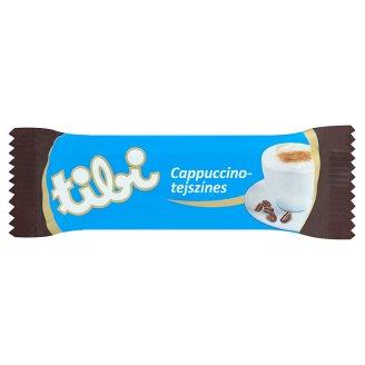 Tibi cappuccino-tejszínes szelet étcsokoládéval mártva 30 g