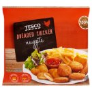 Tesco Quick-Frozen Breaded Chicken Nuggets 500 g