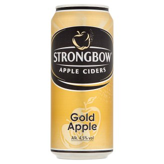 Strongbow Gold Apple Cider 4,5% 400 ml