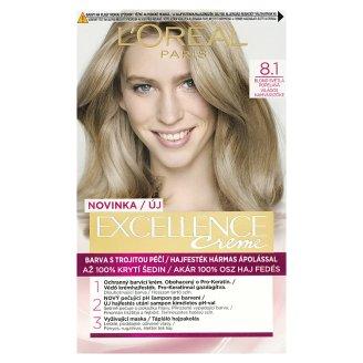 image 1 of L'Oréal Paris Excellence Creme 8.1 Light Bloomy Blonde Permanent Hair Colorant