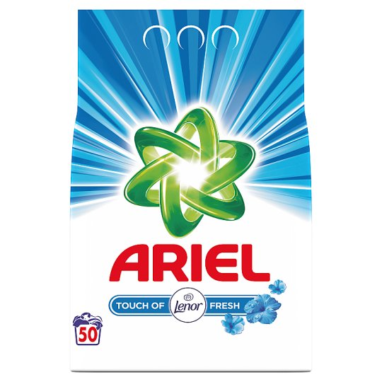 Ariel Washing Powder Touch Of Lenor Fresh 3.75 Kg 50 Washes