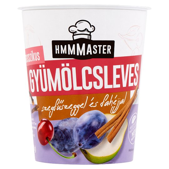 Hmmmaster Classic Fruit Soup with Clove and Cinnamon 330 ml