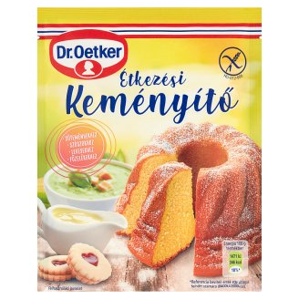 Dr. Oetker Gustin Gluten-Free Table Starch 80 g