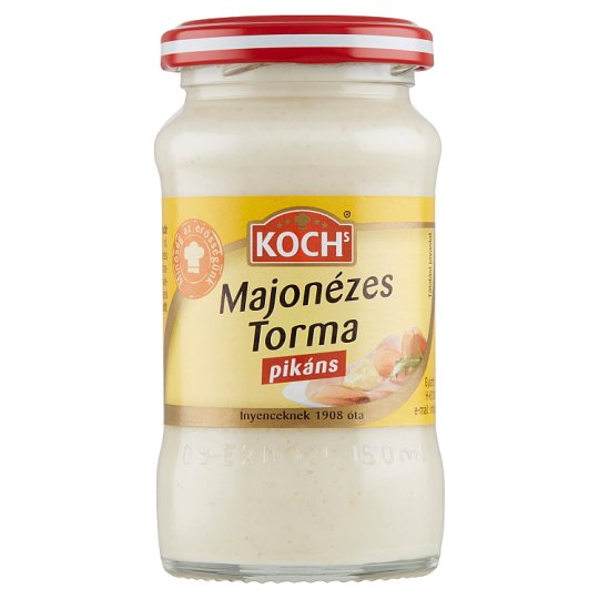 Koch's Spicy Horseradish with Mayonnaise 140 g