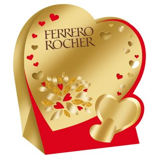 Ferrero Rocher tejcsokoládéval és mogyoródarabkákkal borított ropogós ostya 50 g