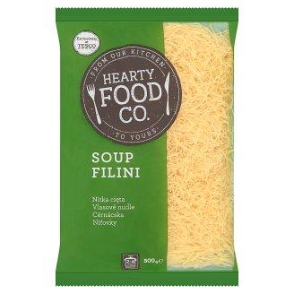 Hearty Food Co. cérnácska tojás nélküli száraztészta 500 g