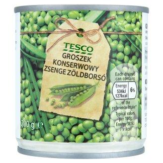 Tesco zsenge zöldborsó 200 g