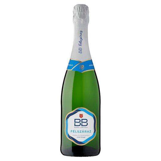 BB félszáraz fehér pezsgő 0,75 l