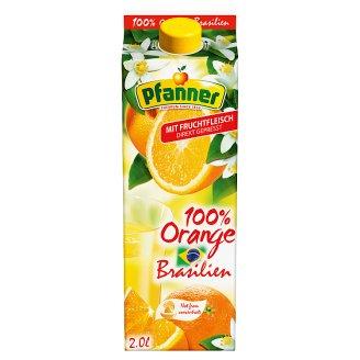 Pfanner 100% direkt préselt narancslé gyümölcshússal 2 l