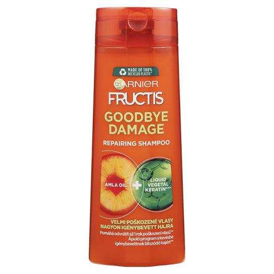 Garnier Fructis Goodbye Damage sampon nagyon igénybevett hajra 250 ml