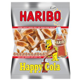 Haribo Happy Cola Mousse Gums with Cola Flavour 85 g