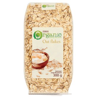 Tesco Organic Oat Flakes 300 g