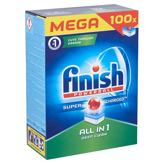 Finish All in 1 Dishwasher Tablets 100 pcs