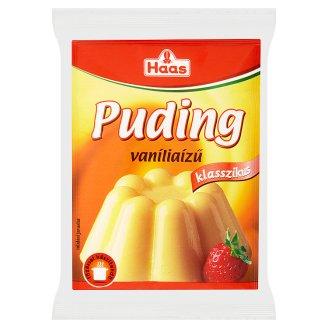 Haas Klasszikus Vanilla Flavoured Pudding Powder 3 x 40 g