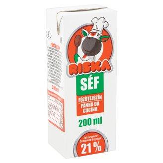 Riska Séf UHT főzőtejszín 21% 200 ml