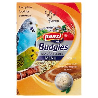 Panzi Bird Budgie Pet Food 700 ml