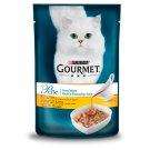 Gourmet Perle Gravy Delight állateledel macskáknak csirkével, grillezett csirke ízű szószban 85 g