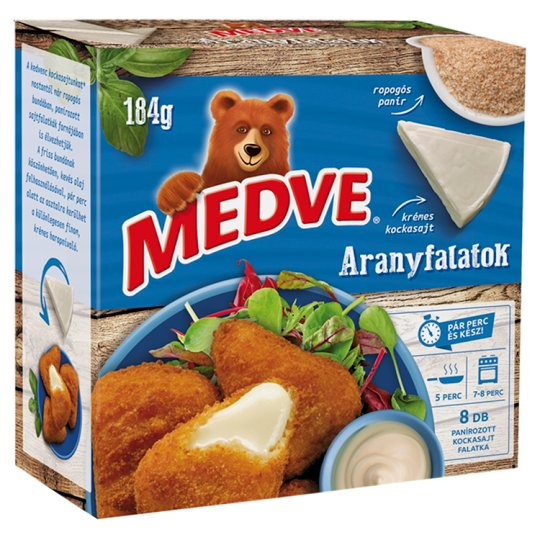 Medve ARANYFALATOK From Especially Delicious Bulk Cheese 184 g