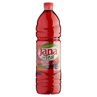 Jana Ice Tea Non-Carbonated Drink with Forest Fruit and Cranberry Flavour 1,5 l