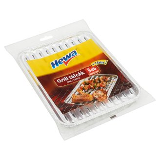 Hewa grill tálcák 3 +1 db