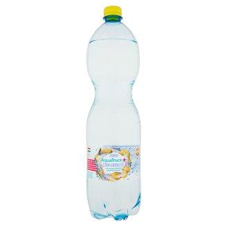 Tesco Aquafruct+ citrom-levendula ízű szénsavas üdítőital édesítőszerekkel 1,5 l