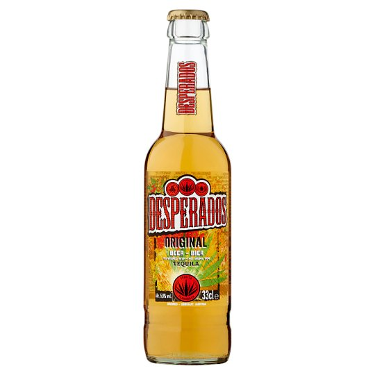 Desperados Tequila Flavoured Lager Beer Speciality 5 9 0 33 L Bottle Tesco Groceries