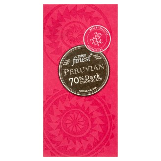 Tesco Finest Peruvian 70% Dark Chocolate 100 g