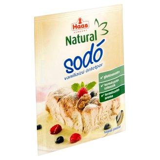 Haas Natural sodó vaníliaízű öntetpor 15 g