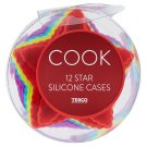 Tesco Cook Star Silicone Cases 12 pcs