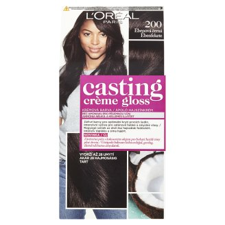 L'Oréal Paris Casting Crème Gloss 200 Ebony Black Permanent Hair Colorant