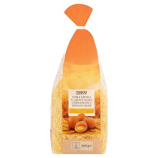 Tesco cérnametélt 4 tojásos száraztészta 500 g