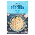 Tesco Salted Microwave Popcorn 3 x 100 g