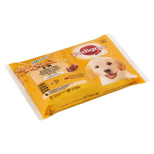 Pedigree Vital Protection Junior teljes értékű eledel kölyökkutyák számára aszpikban 4 x 100 g